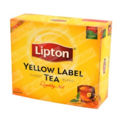 چای کیسه ای 100 لیپتون